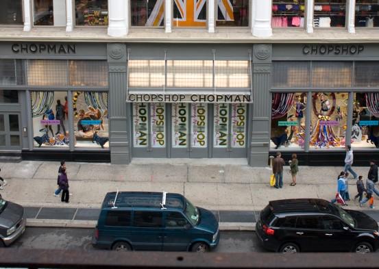 Chop Shop at Broadway and Broome NYC