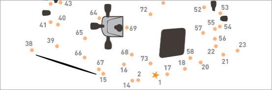 NASA Chop Connect the Dots