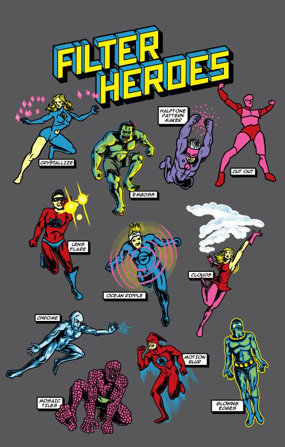 Filter Heroes Art