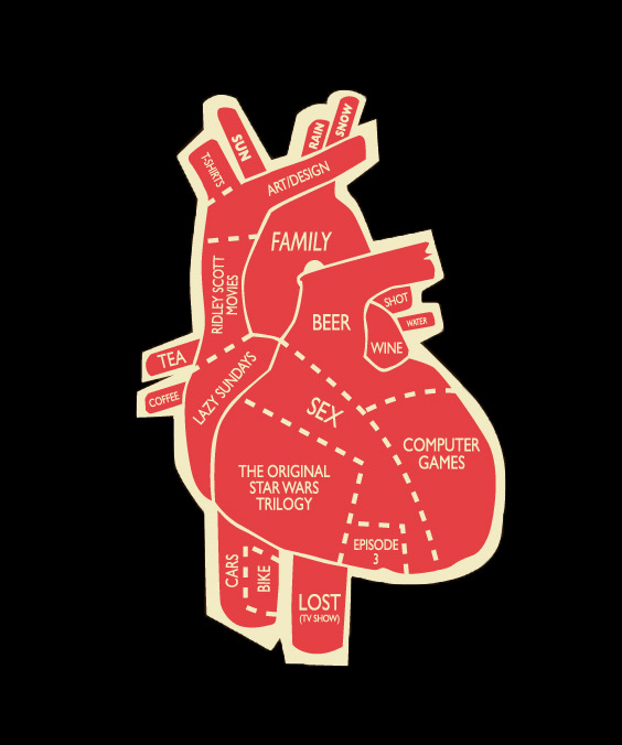My Heart is Divided Tshirt