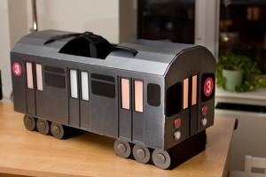 NYC Subway Train Costume - 3 Train