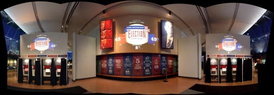 Election Central Exhibit