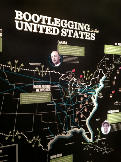 Bootlegging Map