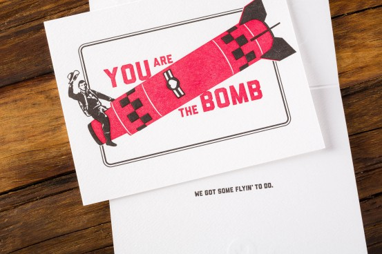 You Are the Bomb Card