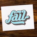 Fail Card