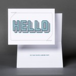 Hello (Variation 1) Card
