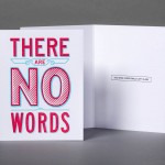 No Words Card